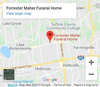 Forrester Maher Funeral Home Map